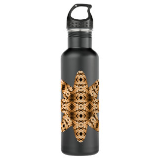 Ethereal Diamonds Star (Tigers Eye) Stainless Steel Water Bottle