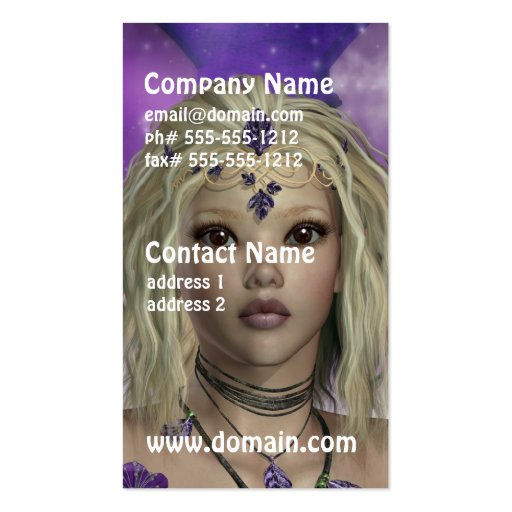 Ethereal Fairy Business Cards