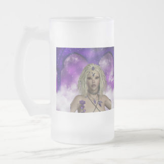 Ethereal Fairy Frosted Beer Mug