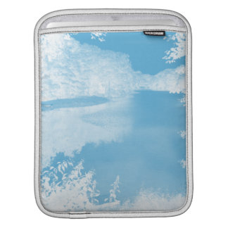 Ethereal Fantasy Blue, White Winter River iPad Sleeves