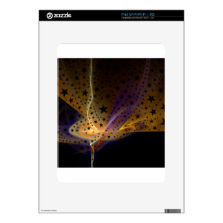 Ethereal Flame with Stars Decal For The iPad