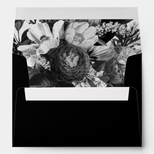 Ethereal Floral Envelope
