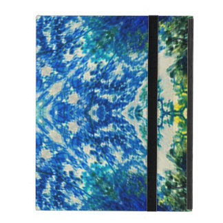 Ethereal Forest Mandala iPad Folio Case