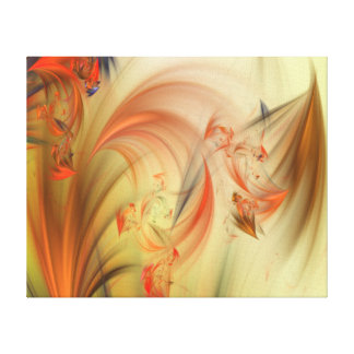Ethereal Fractal Canvas Print