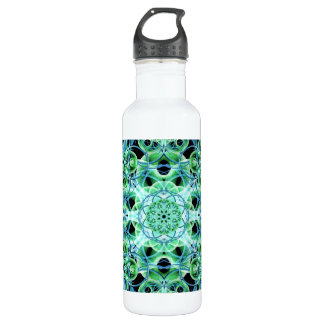 Ethereal Growth Mandala Stainless Steel Water Bottle