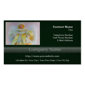 Ethereal Guardian Angel Business Card