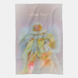 Ethereal Guardian Angel Hand Towel