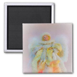 Ethereal Guardian Angel Fridge Magnet