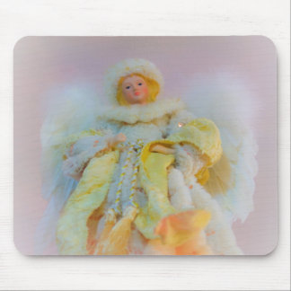 Ethereal Guardian Angel Mouse Pad