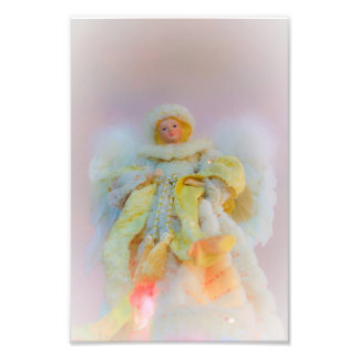 Ethereal Guardian Angel Photographic Print