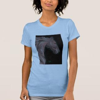 Ethereal ladies petite tee pale blue