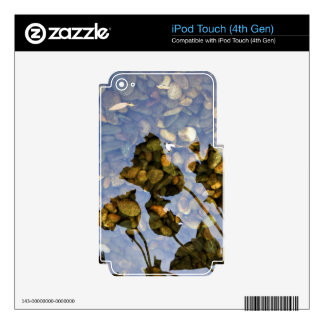 Ethereal Lotus Decals For iPod Touch 4G