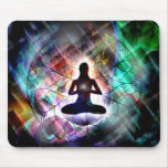 ethereal meditation - mouse pad