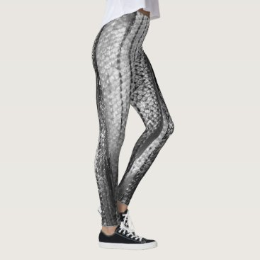 Halloween Themed Ethereal Mermaid Pattern 4Sophia Leggings