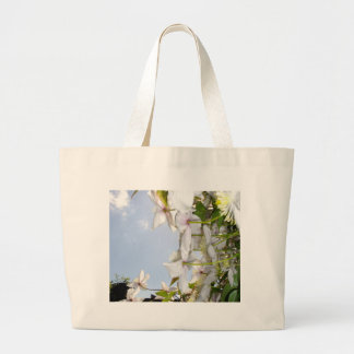 ETHEREAL PETALS WITH SKY TOTE BAG
