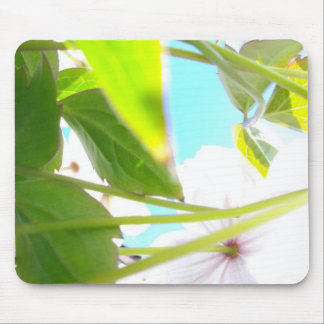 ETHEREAL PETALS WITH SKY MOUSE PAD