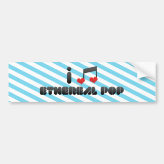 Ethereal Pop Bumper Sticker