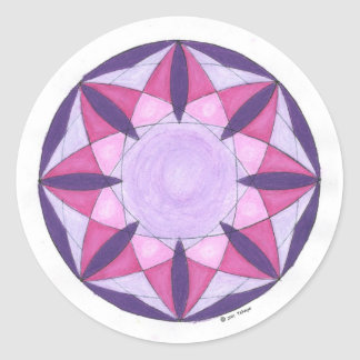 Ethereal Protection Round Sticker