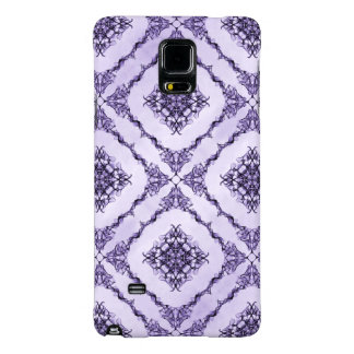 Ethereal Purple and Lavender Fractal Design Galaxy Note 4 Case