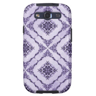 Ethereal Purple and Lavender Fractal Design Galaxy SIII Case