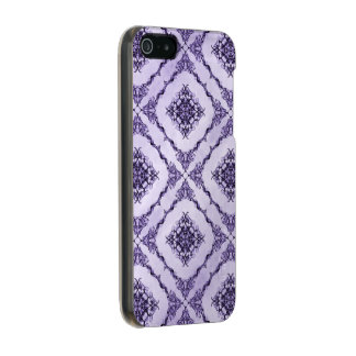 Ethereal Purple and Lavender Fractal Design Incipio Feather® Shine iPhone 5 Case