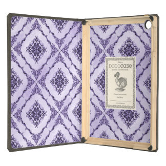 Ethereal Purple and Lavender Fractal Design iPad Air Covers