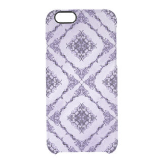 Ethereal Purple and Lavender Fractal Design Uncommon Clearly™ Deflector iPhone 6 Case