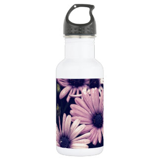 Ethereal Purple Daisies Water Bottle