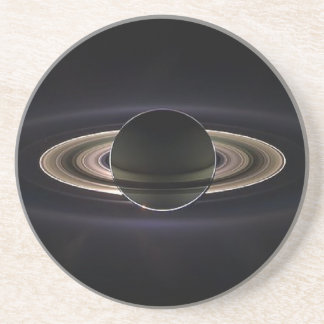 Ethereal Saturn` Drink Coasters