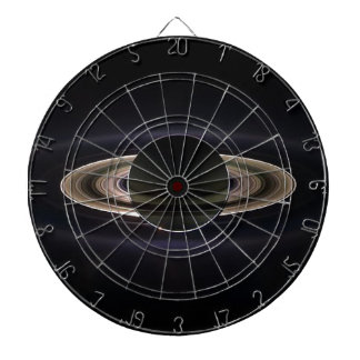 Ethereal Saturn` Dartboard With Darts