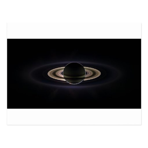 Ethereal Saturn` Post Cards