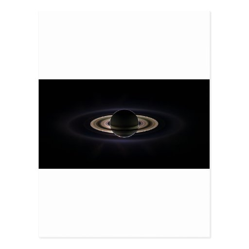 Ethereal Saturn` Post Card