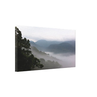 Ethereal Spring Mountain Mist/Photographic Art Canvas Print