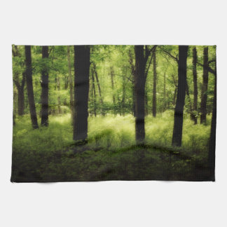 Ethereal Summer Woods Hand Towels