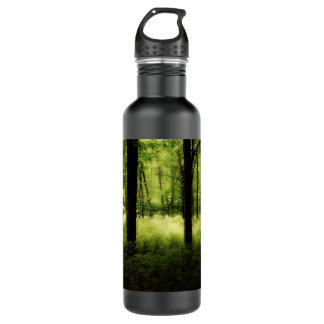 Ethereal Summer Woods Stainless Steel Water Bottle