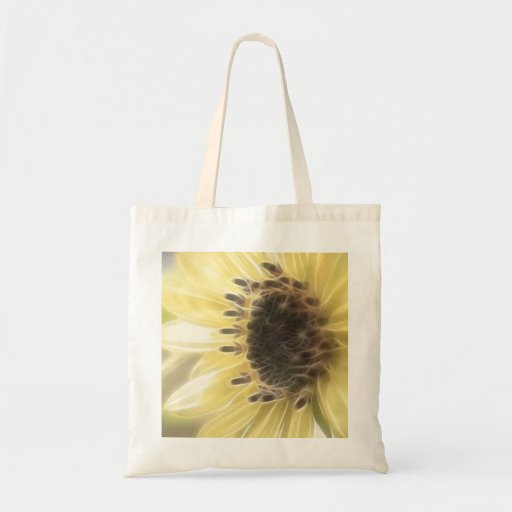 Ethereal Sunflower Budget Tote Bag