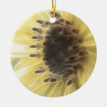 Ethereal Sunflower Christmas Tree Ornament