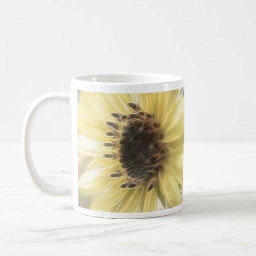 Ethereal Sunflower Coffee Mugs