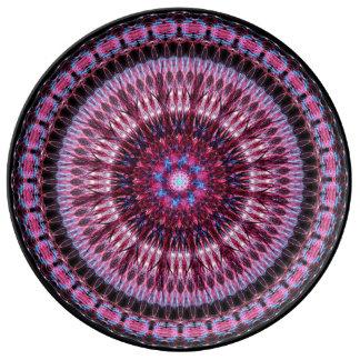 Ethereal Symbol Mandala Porcelain Plate