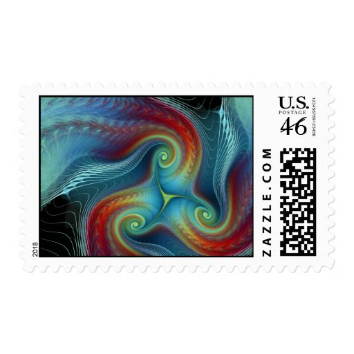 Ethereal veil postage