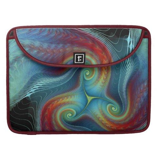 Ethereal veil Rickshaw Flap Sleeve MacBook Pro Sleeves