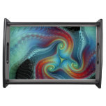 Ethereal veil Serving Tray at Zazzle