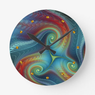 Ethereal veil Wall Clock