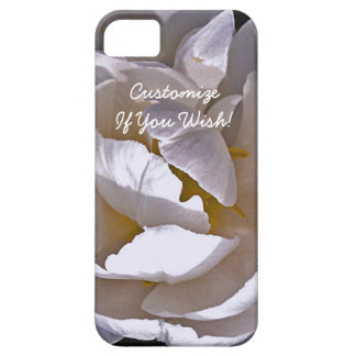 Ethereal White Bloom in Light and Shadow iPhone 5 Cases