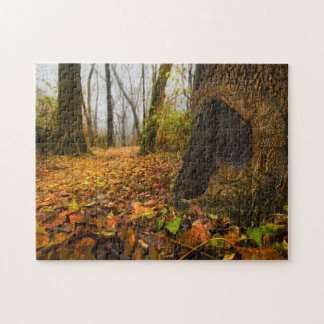Ethereal Woods, Forest Floor Perspective Print Jigsaw Puzzle