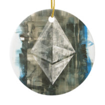 Ethereum Ceramic Ornament