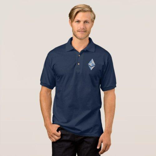 Ethereum ETH Gray & Blue Logo   Polo