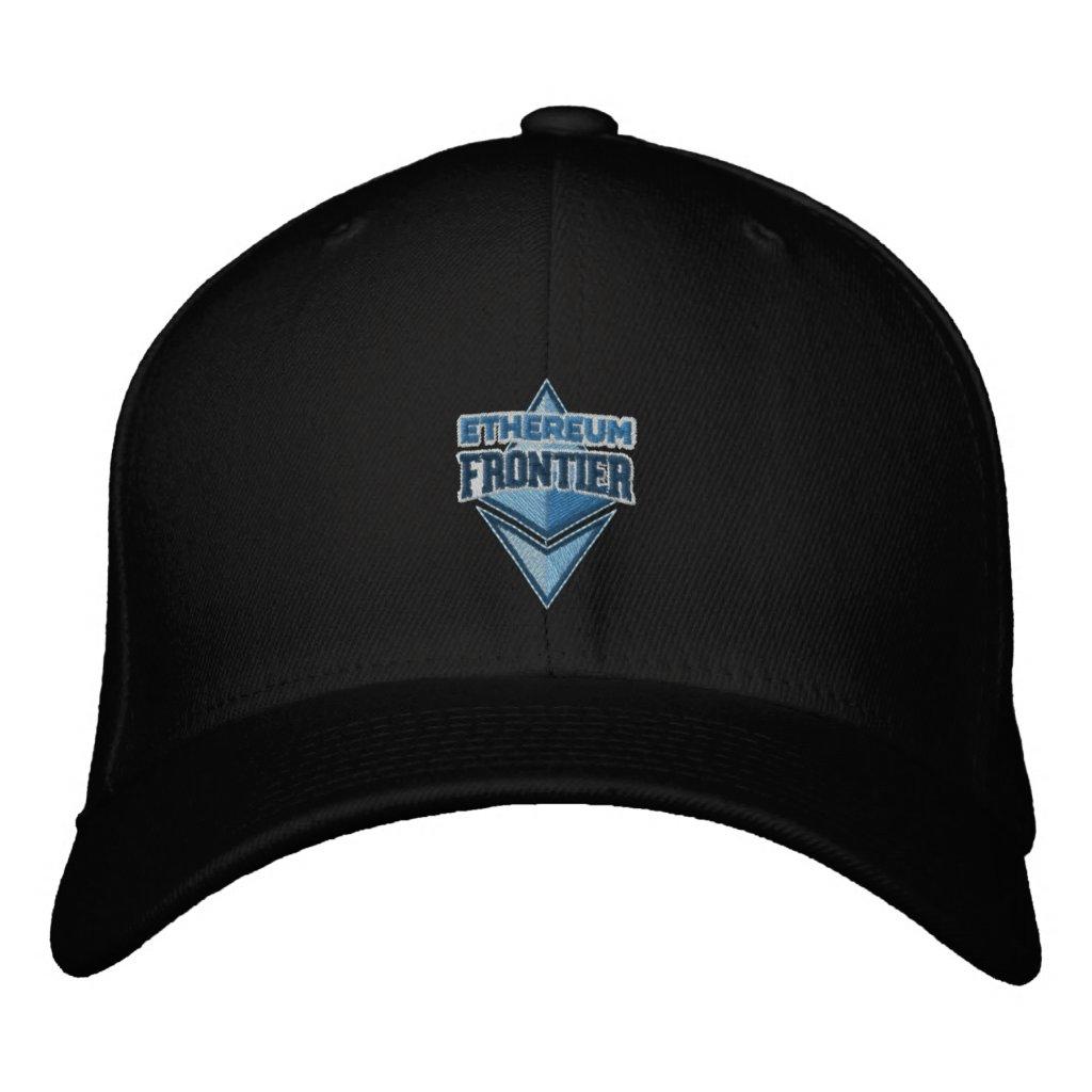 Ethereum Frontier original blue embroidered cap