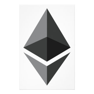 Ethereum Logo Only Stationery