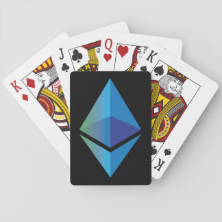 Ethereum Logo Symbol Cryptocurrency Playing Cards